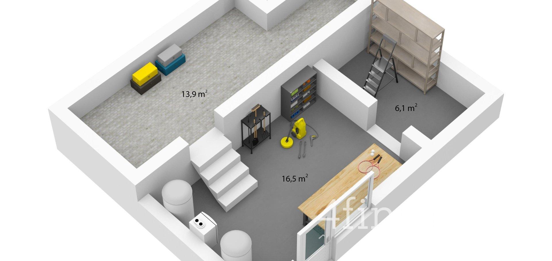 Pronájem Rodinného domu, 110m²