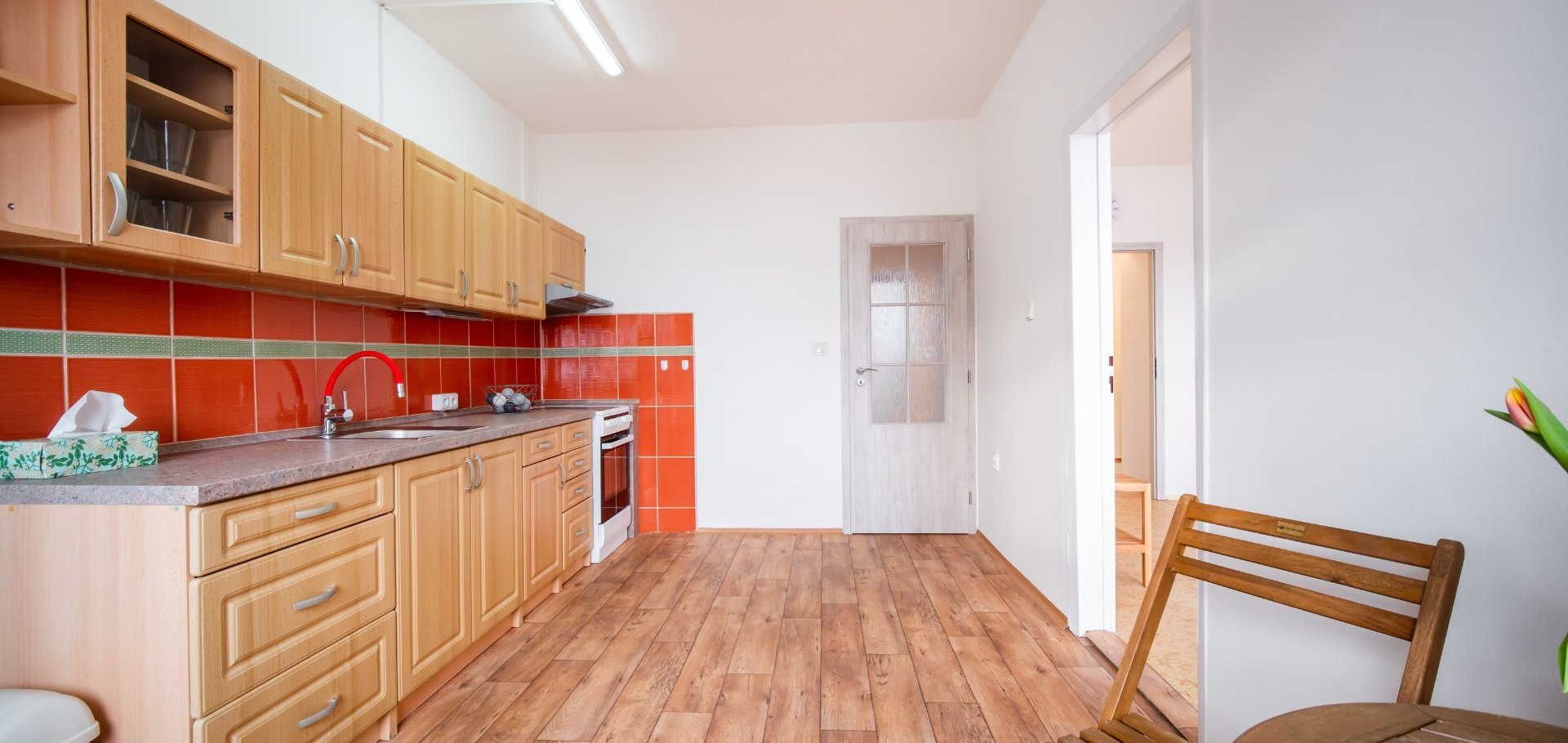 Prodej světlého bytu 3+1, 75m² s prosklenou lodžií