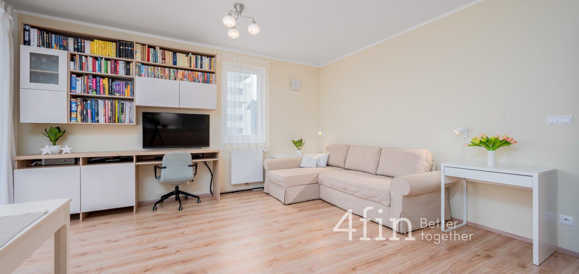 Prodej útulného bytu 3+kk z projektu Milíčovský háj s balkonem a garážovým stáním