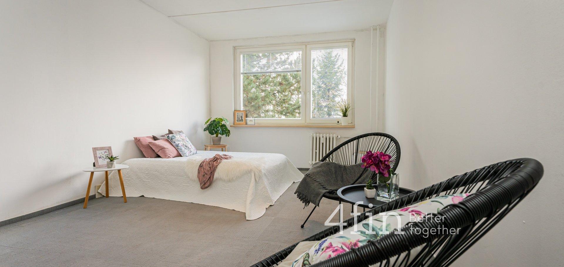 Prodej bytu k rekonstrukci, 1+kk, 29m², Praha - Modřany