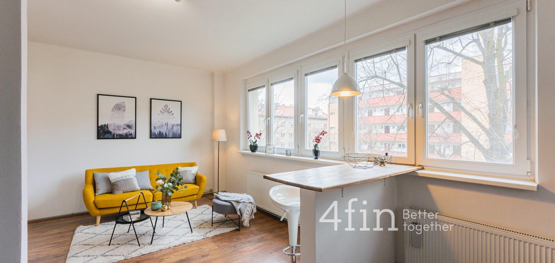 Prodej útulného bytu 2+kk, 48m², Humpolecká - Praha 4