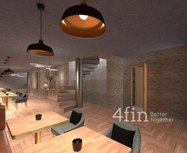 Prodej komerčních prostor 180 m² - Praha 5 - Košíře