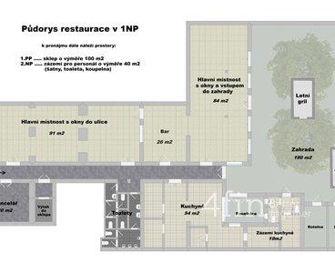 Půdorys restaurace 3ku2 - popis - uprava