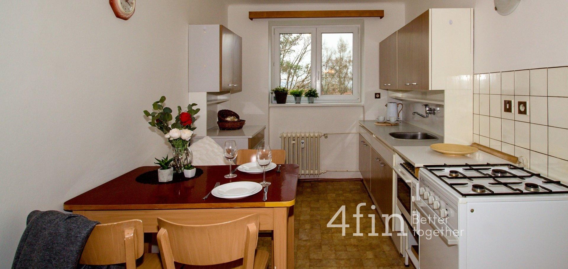 Pronájem světlého bytu 2+1, 57m², Hořovice