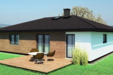 Prodej, výstavba RD na klíč 3+kk, užitná plocha 69 m2, na pozemku 682 m² - Kornatice, Ev.č.: 00067