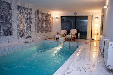 Prodej, Rodinné domy 190m² - Dobřany, na vlastním pozemku, s venkovním a vnitřním bazénem, Ev.č.: 00218