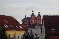 Pohled na kostel