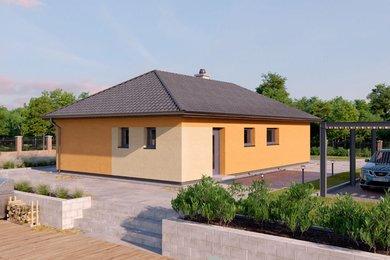 Prodej ,výstavba RD 4+kk na pozemku 1377 m² - Měčín - Petrovice,okres Klatovy, Ev.č.: 00354