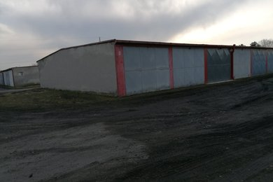 Prodej, garáž  na vlastním pozemku 19m² , Plzeň-Bory ,k.ú.Skvrňany, Ev.č.: 00510