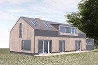 R dům návrh