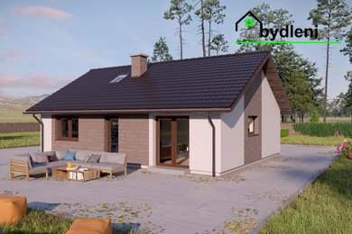 Prodej, zděný bungalov 3+kk EKO na pozemku 800m² , Bolešiny - Slavošovice okres Klatovy, Ev.č.: 00601