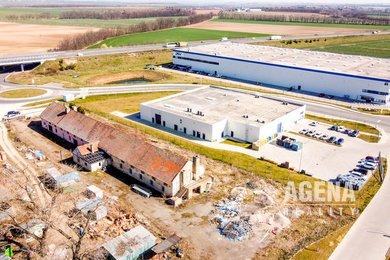 Pozemek pro komerční výstavbu -  5.626. m² - Logistický park Pavlov u Unhoště, Ev.č.: 21008