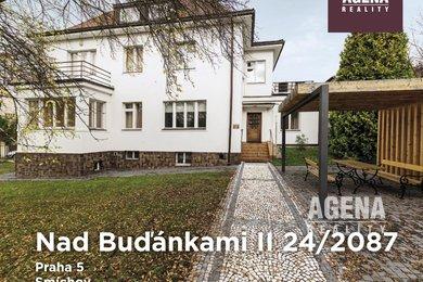 Pronájem nové vily na Praze 5 Buďánkách - komerční i rezidenční využití, Ev.č.: 21015
