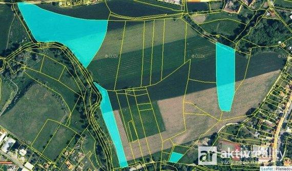 Prodej Pole, 44 947 m², Kostelec nad Labem - Rudeč