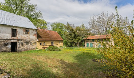 Prodej, Chalupa, 160m² Veclov, pozemek 1693 m²