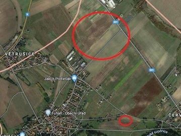 Prodej Pole, 30 958 m², závlaha - Tuhaň