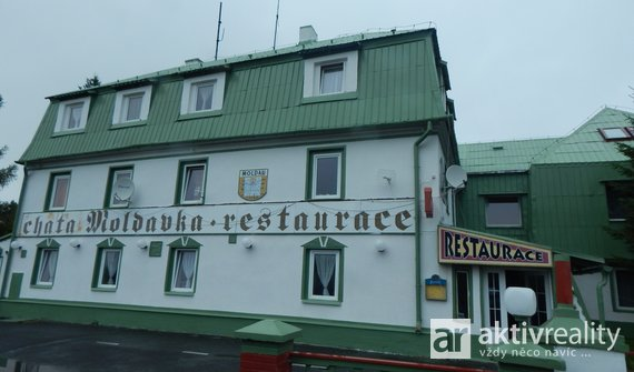 Prodej Společnosti s r.o. bez závazků, Horský hotel, 50 lůžek, restaurace 100 míst, pozemek 10093 m2
