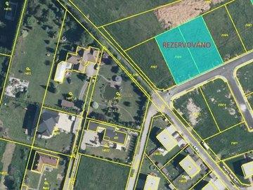Prodej dvou sousedících pozemků k bydlení 2 x 800 m2 Úhonice, Praha Západ