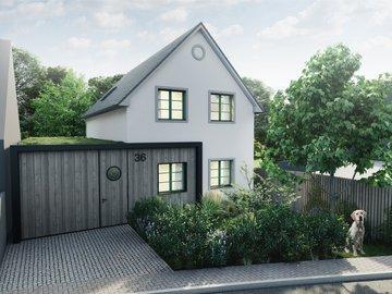 Prodej RD na klíč 4+kk, 146 m2, pozemek 698 m2, zahrada s velkými stromy v Rosicích