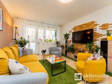 Prodej hezkého bytu 3+1, 78m² , družstevní-Mělník
