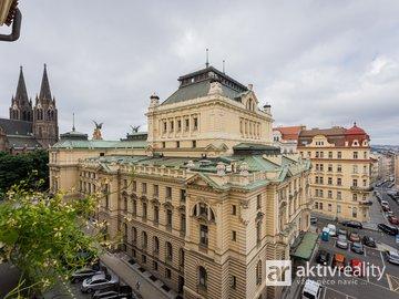 Prodej slunného bytu 2+1, 74 m2, ul. Šubertova, Praha 2 - Vinohrady
