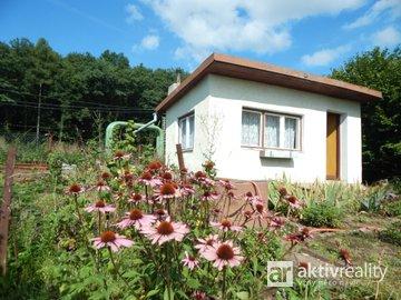 Prodej, pozemek - zahrada 457m2, chatka 16m2 - Most - Čepirohy