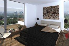 Prodej bytu 1+kk/B, 41 m2, v Rezidenčním projektu Primátorská, Praha 8, 10 minut od centra Prahy