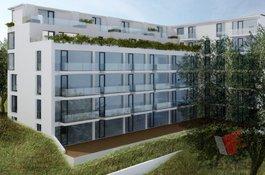 Prodej bytu 1+kk/T, 66 m2, garážové stání, sklep, Rezidenční projekt Primátorská, Praha 8