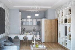 Prodej bytu 3+kk/L+garáž, 78 m2, Karlín - centrum Prahy