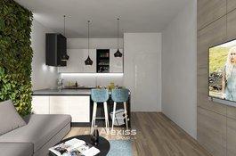 Prodej bytu 3+kk, 76 m2, přezahrádka 67 m2, Karlín - centrum Prahy