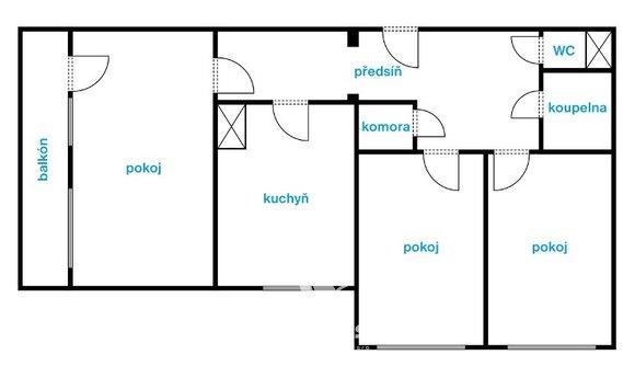 dispozice bytu