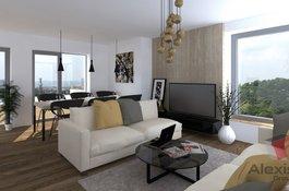 Prodej bytu 2+kk, 50 m2, v Rezidenčním projektu Primátorská, Praha 8, 10 minut od centra Prahy