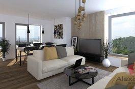 Prodej bytu 1+kk/T, 52 m2, garážové stání, sklep, Rezidenční projekt Primátorská, Praha 8