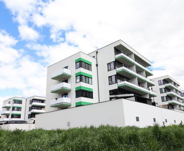 Prodej novostavby bytu 3+kk, s balkonem, SLAVONÍNSKÉ ZAHRADY III