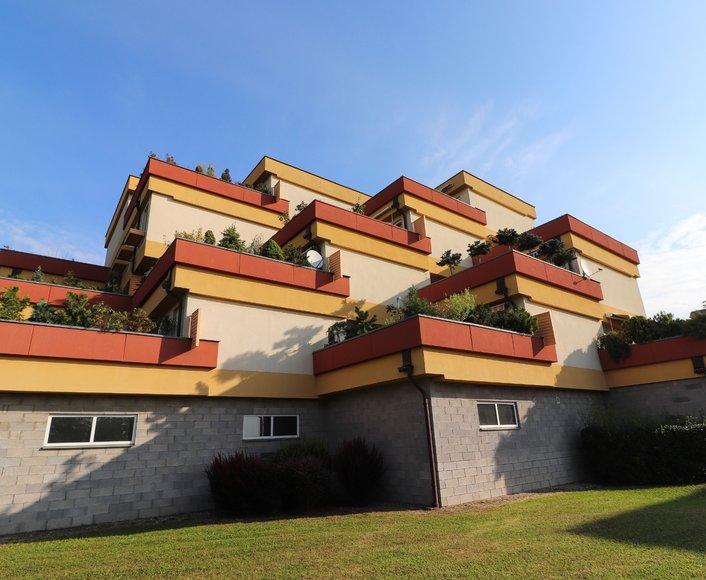 Prodej bytu 2+kk s terasou ve vysokém standardu v oblíbené lokalitě na ul. Okružní