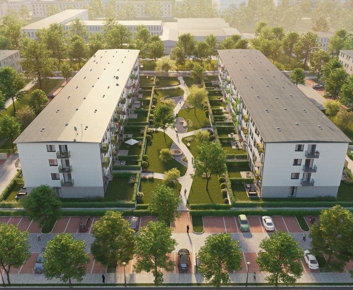 Prodej novostavby bytu 3+kk s balkonem, REZIDENCE PARK Hrabůvka