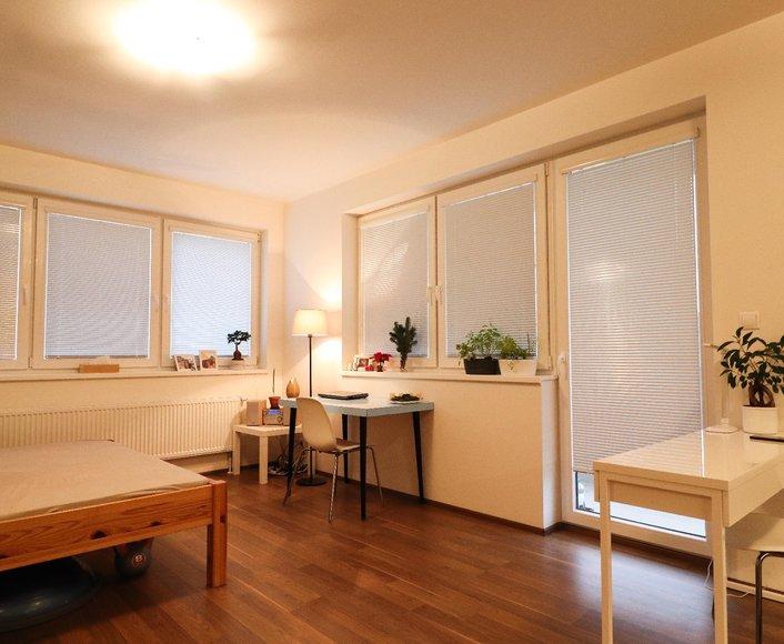 Pronájem novostavby bytu 1+kk, 35m² v Olomouci, ulice Aloise Rašína