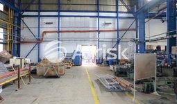 Pronájem části výrobní haly 487 m2 s jeřábem 20/5 t