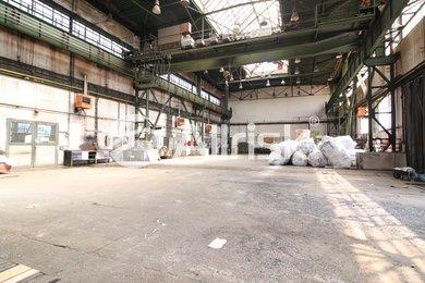 Pronájem vytápěné výrobní haly 1000 m2 s jeřábem 8 t, Ev.č.: BK140876-1
