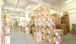 Pronájem vytápěných skladů 1450 m2 s kancelářemi 215 m2