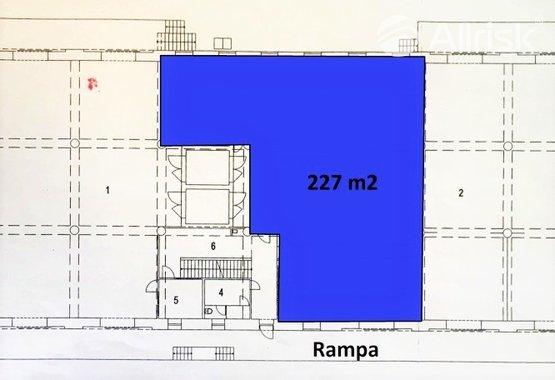 277 m2 pronájem nebyt. prostor