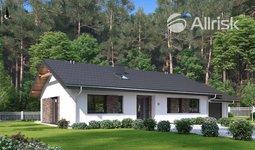 Prodej, Projekt - přízemní dům - bungalov 118 m2, Kundratice