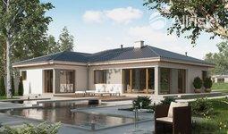 Prodej, Projekt bungalov tvaru L, 93 m2- Kundratice
