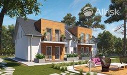 Prodej, Projekt 2-dům - 2x 126 m2, Voděrady