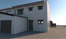 Prodej novostavby rodinného domu 4 + kk s garáží, 104m2 a zahradou 119m2, ul.Riegrova,  Svitavy