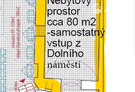 Půdorys domu cca 80 m2