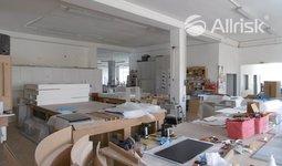 Pronájem vytápěných výrobních ploch 200 m2
