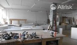 Pronájem vytápěných výrobních ploch 385 m2