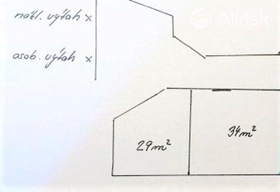 29 m2  suterén