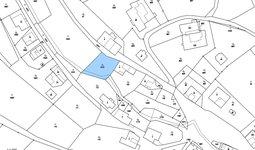 Prodej stavební parcely 752 m2 v obci Kozlov u České Třebové